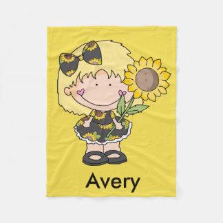Avery's Sunflower Blanket