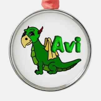 Avi (with name) christmas ornament