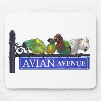 Avian Avenue Mousepad (choose any color)
