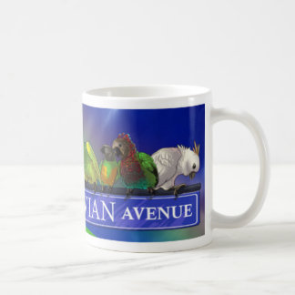 Avian Avenue Parrot Forum Mug