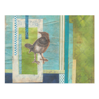 Avian Scrapbook I Postcard