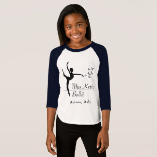 Aviano Ballet Program Girls 3/4 Sleeve T-Shirt