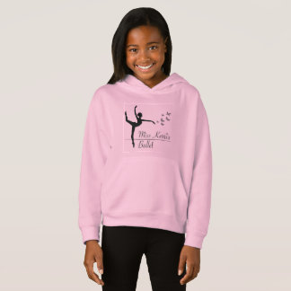 Aviano Ballet Program Girls Hoodie