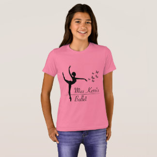 Aviano Ballet Program Girls Quote Shirt
