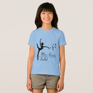 Aviano Ballet Program Girls Quote T-Shirt