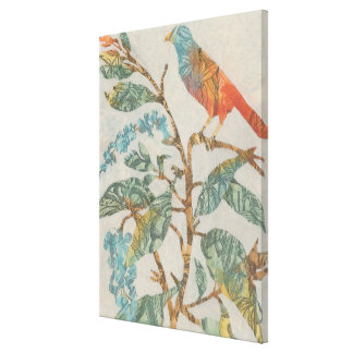 Aviary Collage II Canvas Print
