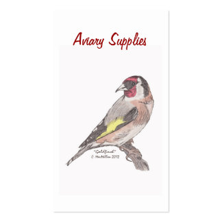 Aviary Supplies Business Cards