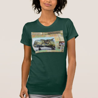 """""""Aviation""""-7 Women's Fitted T-Shirt"""