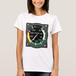 Aviation Airspeed Gauge T-Shirt