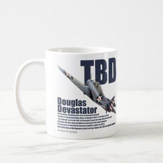 "Aviation Art mug ""Douglas TBD Devastator """