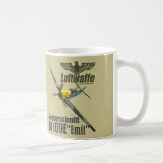"Aviation Art mug ""Messerschmitt Bf 109"""