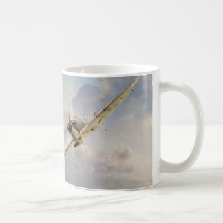 "Aviation art mug ""Spitfire """