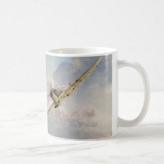 "Aviation art mug ""Spitfire """