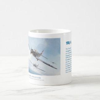 Aviation art mug TBD-1 Devastator マグカップ