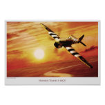 """Aviation Art Poster """"Hawker Tempest MK.V """""""