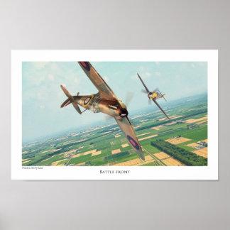 "Aviation Art Poster ""Spitfire """