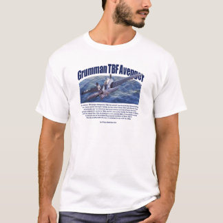 "Aviation Art T-shirt ""Grumman TBF Avenger"""