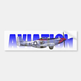 Aviation Bumper Sticker