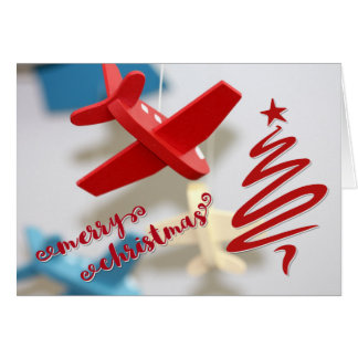 Aviation Christmas Card