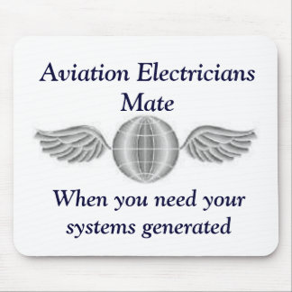 Aviation Electricians Mate Mousepad