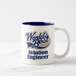 Aviation Engineer Gift Two-Tone Coffee Mug