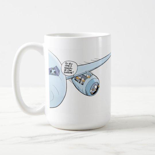 Aviation Humour Cartoon Coffee Mug