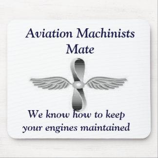 Aviation Machinists Mate Mousepad