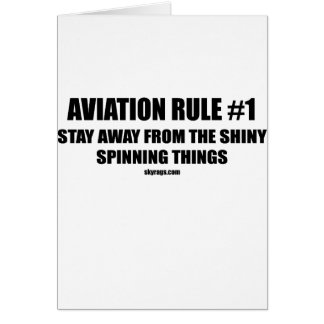 AVIATION RULE 1 CARD