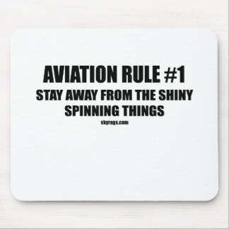 AVIATION RULE 1 MOUSE PAD