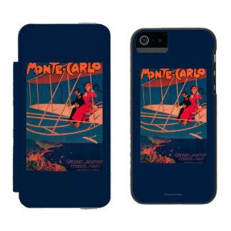 Aviation Sporting Poster Incipio Watson™ iPhone 5 Wallet Case