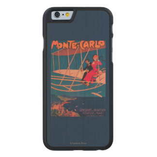 Aviation Sporting Poster Carved® Maple iPhone 6 Case