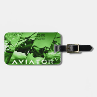 Aviator AIrcrafts Luggage Tag