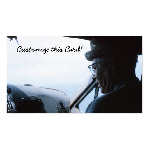 Aviator Business Card