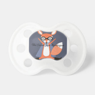 Aviator Fox Papi Baby Pacifiers