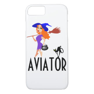 Aviator funny customizable iPhone 8/7 case