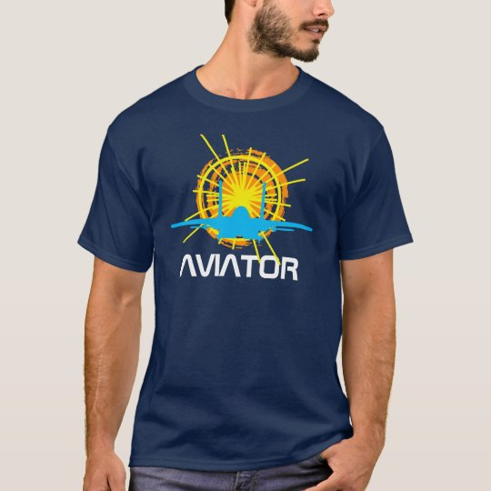 Aviator one-of-a-kind beautiful customisable T-Shirt