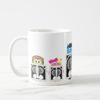 Aviator Owl XRay Basic White Mug
