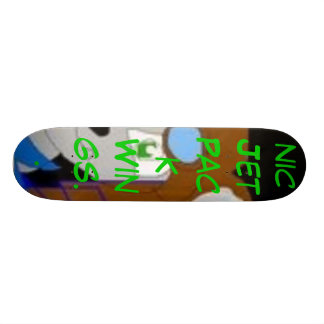 Aviator The Chinchilla, Aviator The Chinchilla ... Skate Board