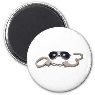 AviatorGlassessHandcuffs103110 Magnet