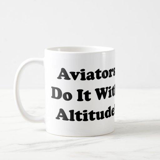 Aviators do it with Altitude Coffee Mugs