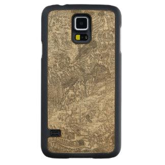 Avignon, Orange Carved Maple Galaxy S5 Case
