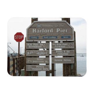 Avila Beach, Port San Luis, Harford Pier Rectangular Photo Magnet