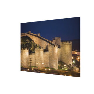 Avila, Castile and Leon, Spain Stretched Canvas Print