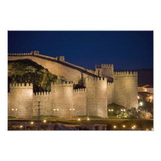 Avila, Castile and Leon, Spain Photo Print