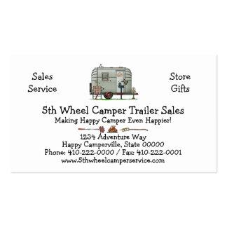 Avion Camper Trailer HSH Pack Of Standard Business Cards