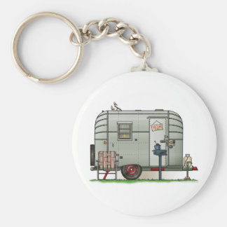 Avion Camper Trailer Key Ring