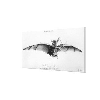 Avion III, 'The Bat' Canvas Print