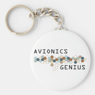 Avionics Genius Key Ring