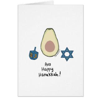 Avo Happy Hanukkah! Card