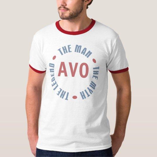 Avo Man Myth Legend Customisable T-Shirt